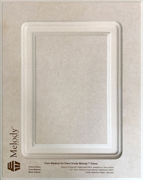 Core Material for Paint Grade Melody™ Doors