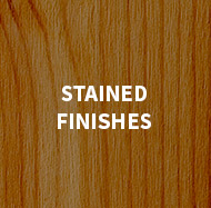 Stained Finishes